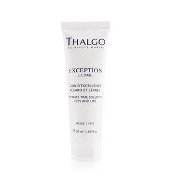 Thalgo Exception Ultime Ultimate Time Solution Eyes & Lips Cream (Salon Size)  50ml/1.69oz