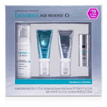 Age Reverse Introductory Collection: BioActiv Wash + Day Repair + Night Lift + Eye Contour 4pcs