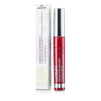 Clinique Witaminowy koktajl do ust Vitamin C Lip Smoothie (Nowe opakowanie) - #12 Peach Powder  2.8ml/0.09oz