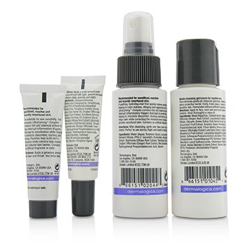 UltraCalming Skin Kit: Cleanser + Mist + Barrier Repair + Serum Concentrate  4pcs