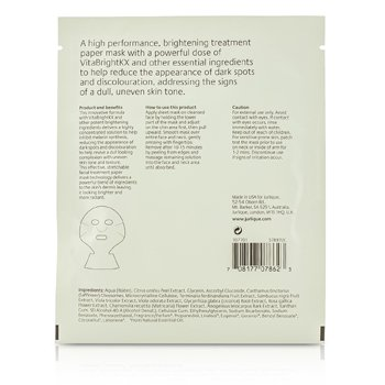 Purely White Skin Brightening Facial Treatment Mask  5x20ml/0.67oz
