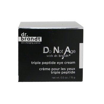 Do Not Age Triple Peptide Eye Cream  15g/0.5oz
