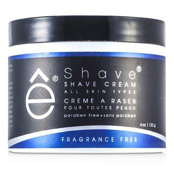 EShave Shave Cream - Fragrance Free  120g/4oz