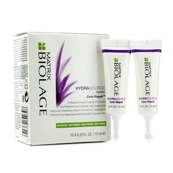 Matrix Biolage HydraSource Cera-Repair Tratamiento de Ceramida Profesional (Para Cabello Seco)  10x10ml/0.33oz