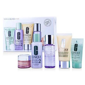 Zestaw Exclusive Set: DDML Plus 50ml + All About Eyes 15ml + Liquid Soap 30ml + Clarifying Lotion #2 60ml + Makeup Remover 50ml  5pcs