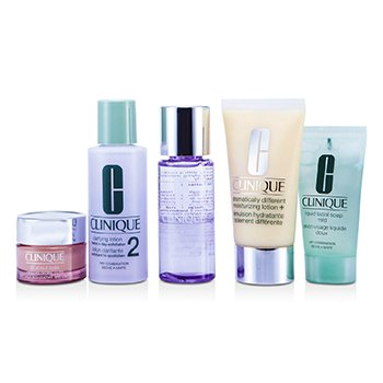 Exclusive Set: DDML Plus 50ml + All About Eyes 15ml + Liquid Soap 30ml + Clarifying Lotion #2 60ml + Makeup Remover 50ml  5pcs