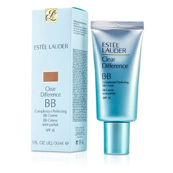 Estee Lauder Clear Difference Complexion Perfecting BB Creme SPF 35 - # 3 Medium/Deep  30ml/1oz