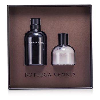 Pour Homme Coffret: Eau De Toilette Spray 90ml/3oz + After Shave Balm 100ml/3.4oz  2pcs