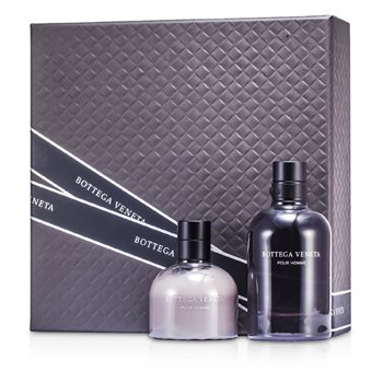 Bottega Veneta Kit Pour Homme: Eau De Toilette Spray 90ml/3oz + Bálsamo Pós Barba 100ml/3.4oz  2pcs