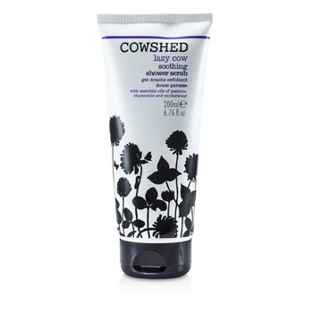 Lazy Cow Soothing Shower Scrub  200ml/6.76oz