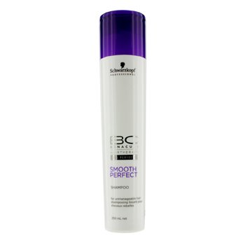 Schwarzkopf Shampoo BC Smooth Perfect (Cabelo Rebelde)  250ml/8.4oz