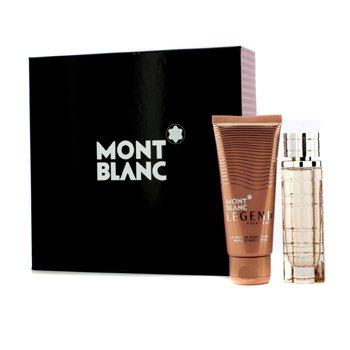 Mont Blanc Legend Pour Femme Coffret: Eau De Parfum Spray 50ml/1.7oz + Loción Corporal 100ml/3.3oz  2pcs