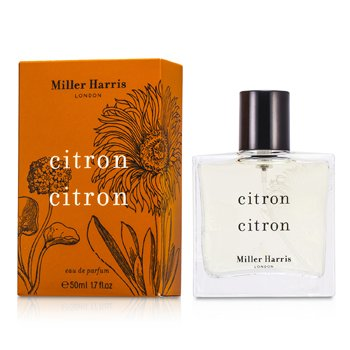 Miller Harris Citron Citron Eau De Parfum Spray (New Packaging)  50ml/1.7oz