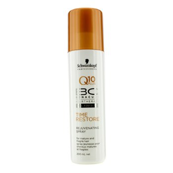 Schwarzkopf BC Time Restore Q10 Plus Spray Rejuvenecedor (Para Cabello Maduro y Fr�gil)  200ml/6.7oz