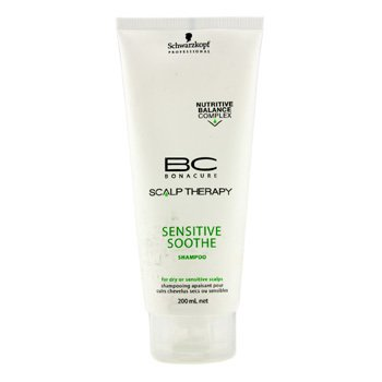 Schwarzkopf BC Scalp Therapy Sensitive Champú Calmante (Para Cuero Cabelludo Seco o Sensible)  200ml/6.7oz
