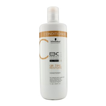Schwarzkopf Odżywka do włosów dojrzałych i delikatnych BC Time Restore Q10 Plus Conditioner (For Mature and Fragile Hair)  1000ml/33.8oz