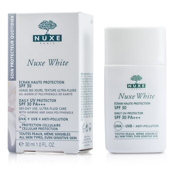 Nuxe White Daily UV Protector SPF 30 (For All Skin Types & Sensitive Skin)  30ml/1oz
