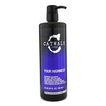 Tigi Catwalk Your Highness Elevating Shampoo - For fint, livløst hår (Ny pakning)  750ml/25.36oz