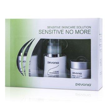 Pevonia Botanica Kit Pele Sensível Solution Sensitive No More: Limpeza De Pele 50ml/1.7oz+Loção 50ml/1.7oz+Creme 20ml/0.7oz  3pcs