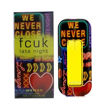 Fcuk Late Night Her Eau De Toilette Spray  100ml/3.4oz