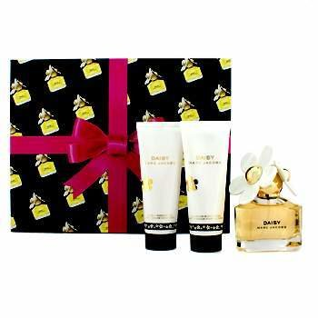 Marc Jacobs Daisy Coffret: Eau De Toilette Spray 50ml/1.7oz + Loción Corporal 75ml/2.5oz + Gel de Ducha 75ml/2.5oz  3pcs