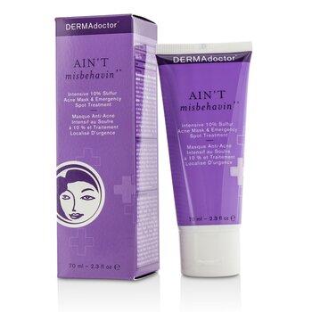 Ain't Misbehavin' Intensive Skin Clarifying Sulfur Acne Mask 70ml/2.3oz