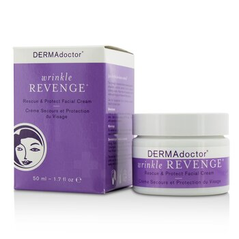 Wrinkle Revenge Rescue & Protect Facial Cream  50ml/1.7oz