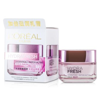 L'Oreal Hydrafresh Hydration+ Antiox Active Aqua Balm - For Normal to Dry Skin  50ml/1.7oz