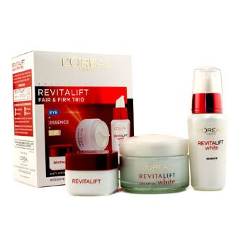 L'Oreal RevitaLift Fair & Firm Trio: Crema de D�a SPF18 50ml +  Esencia 30ml + Crema de Ojos 15ml  3pcs