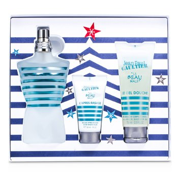 Le Beau Male Coffret: Eau De Toilette Spray 125ml/4.2oz + All Over Shower Gel 75ml/2.5oz + After Shave Balm 30ml/1oz  3pcs