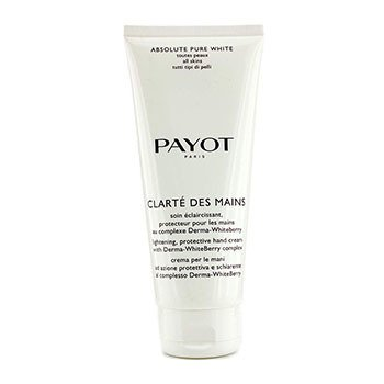 Absolute Pure White Clarte Des Mains Lightening Protective Hand Cream (Salon Size)  200ml/6.7oz