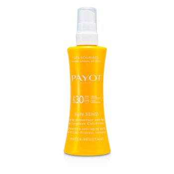 Payot Kosmetyk do opalania w sprayu Les Solaires Sun Sensi - Protective Anti-Aging Spray For Body (odporny na wodę)  125ml/4.2oz