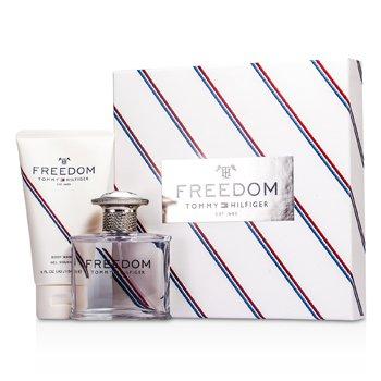 Tommy Hilfiger Tommy Freedom Coffret: Eau De Toilette Spray 50ml/1.75oz +Gel Jabón Corporal 150ml/5oz  2pcs