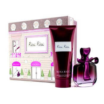 Nina Ricci Ricci Ricci Set: Apă de Parfum Spray 80ml/2.7oz + Loţiune de Corp 200ml/6.8oz  2pcs