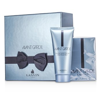 Lanvin Avant Garde Coffret: Eau De Toilette Spray 50ml/1.7oz + After Shave Balm 100ml/3.3oz  2pcs