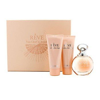 Van Cleef & Arpels Kit Reve: Eau De Parfum Spray 100ml/3.3oz + Loção Corporal 100ml/3.3oz + Sabonete Liquido 100ml/3.3oz  3pcs
