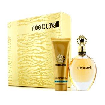 Roberto Cavalli Roberto Cavalli (New) Coffret: Eau De Parfum Spray 75ml/2.5oz + Loción Corporal 75ml/2.5oz  2pcs