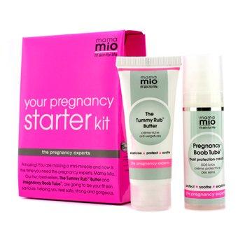Your Pregnancy Starter Kit: The Tummy Rub Butter 30ml + Pregnancy Boob Tube 30ml  2pcs