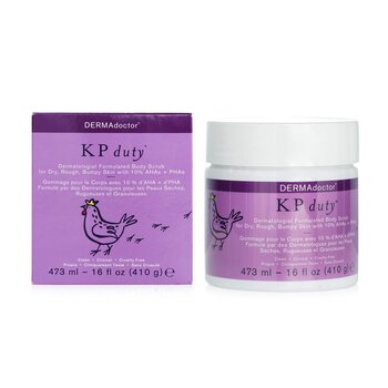 KP Duty Dermatologist Formulated Body Scrub  473ml/16oz