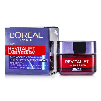 L'Oreal Revitalift Laser Renew Anti-Ageing Cream-Mask Recovery Treatment Night  50ml/1.7oz