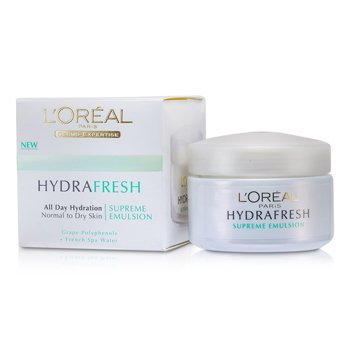 L'Oreal ����Ū�� Hydrafresh All Day Hydration Supreme Emulsion  50ml/1.7oz