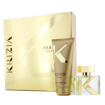 Krizia Pour Femme Coffret: Eau De Parfum Spray 30ml/1oz + Loci�n Corporal 100ml/3.38oz  2pcs