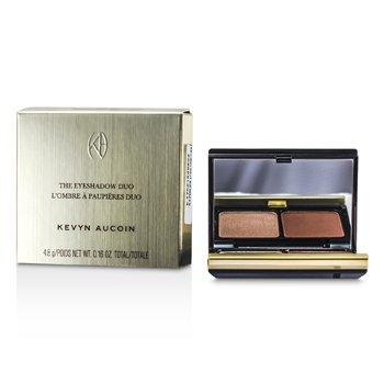 Kevyn Aucoin The Eye Shadow Duo - # 215 Cool Tan/ Ruddy Earth  4.8g/0.16oz