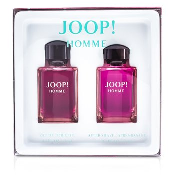 Joop HommeKofre: Eau De Toilette Sprey 75ml/ 2.5oz + Dökme After Shave 75ml/2.5oz  2pcs