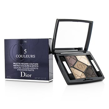 Christian Dior 5 Couleurs Couture Colours & Effects Paleta Sombra de Ojos - No. 796 Cuir Cannage  6g/0.21oz