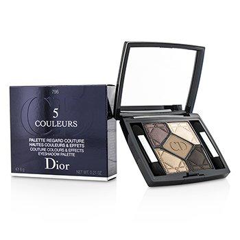 Christian Dior 5 Couleurs Couture Colours & Effects Набор Теней для Век - № 796 Cuir Cannage  6g/0.21oz
