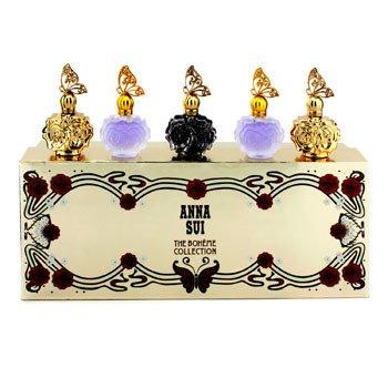 The Boheme Collection Coffret: La Nuit De Boheme Eau De Parfum + 2x La Nuit De Boheme Eau De Toilette + 2x La Vie De Boheme Eau De Toilette  5x4ml/0.14oz