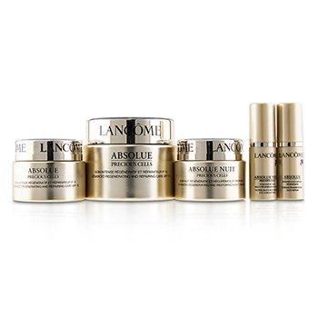 Absolue Precious Cells Coffret: Absolue SPF 15 50ml & 15ml + Night Care 15ml + Eye Concentrate 5ml + Oleo-Serum 5ml  5pcs