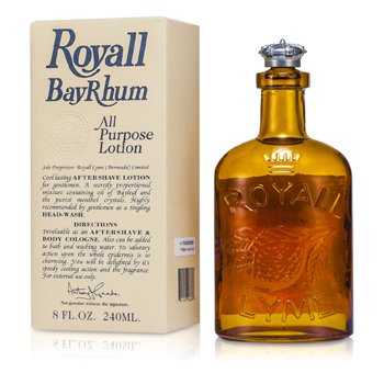 Royall Fragrances Royall BayRhum Loción Splash Multi Propósito  240ml/8oz