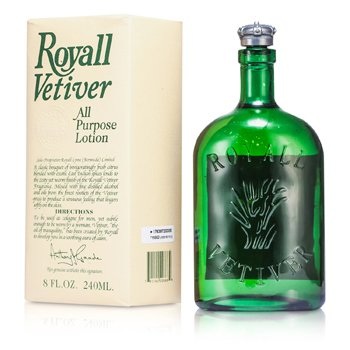 Royall Fragrances Royall Vetiver Loción Splash Multi Propósito  240ml/8oz